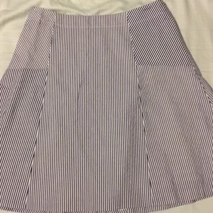 Mini stripe skirt